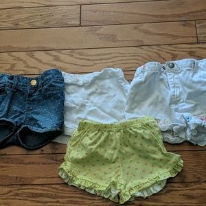 18 Month Girl Shorts